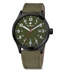 watch KRETOS Gent, black,olive,olive WAT.0251.1101