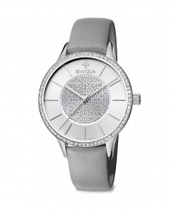 woman's watch STELLA, SST, silver, grey WAT.0631.1005