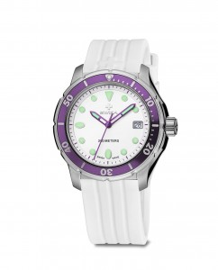woman's watch TETIS Lady, SST, white, white WAT.0431.1004