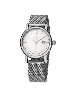 woman's watch ALZA Lady, SST, white, mesh WAT.0121.1003