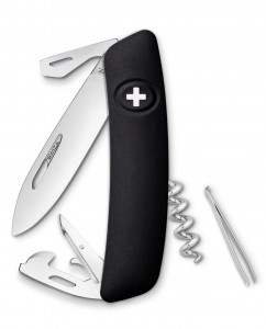 SWIZA D03 Swiss Knife Black KNI.0030.1010