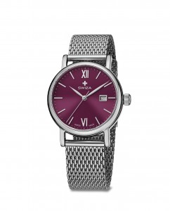 woman's watch ALZA Lady, SST, violet, mesh WAT.0121.1004