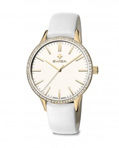 woman's watch STELLA, YG, white, white WAT.0631.1301